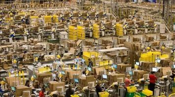 A tour of the Amazon distribution center