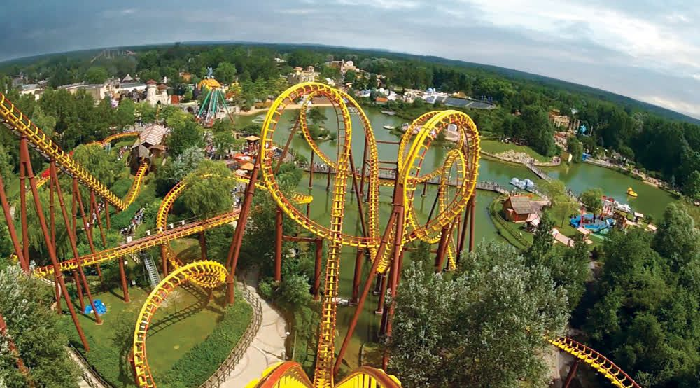 title: Parc Asterix Rollercoasters