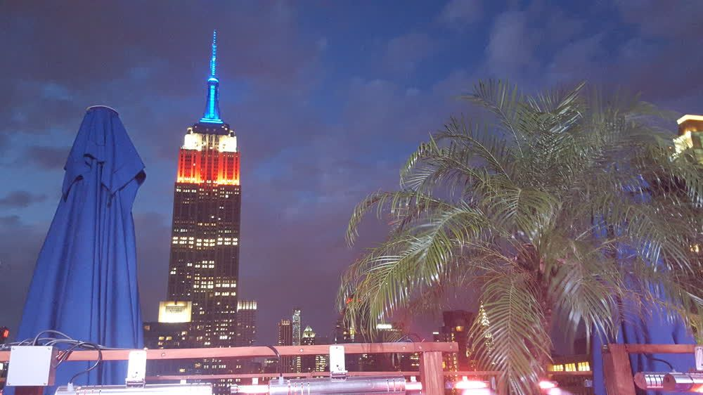 title: New York By Night 250 Roof Top