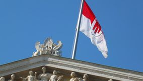 title: Vienna Parliament of Austria