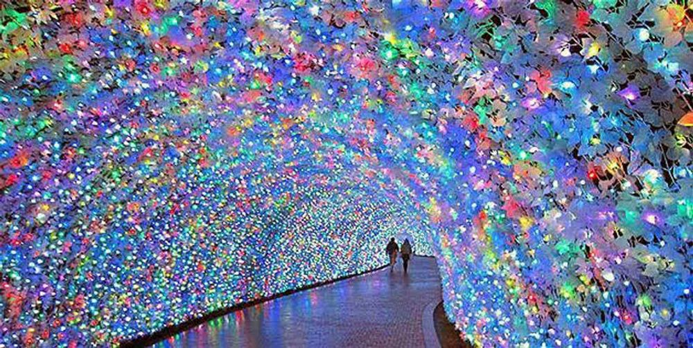 Beautiful Tunnels around the world