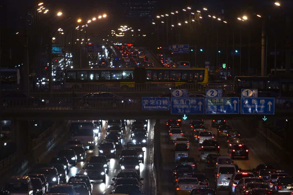 Longest traffic jam in the world, china