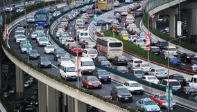 Longest traffic jam in the world china