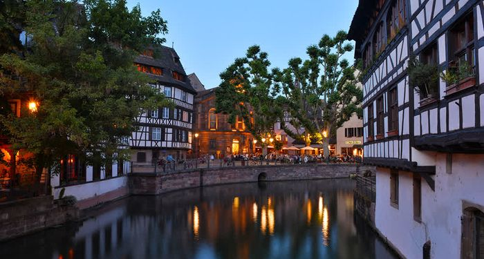 title: Strasbourg by Night