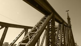 title: The Liberty Bridge Budapest