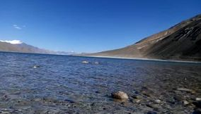 Pangong Lake  Listen to the Breeze