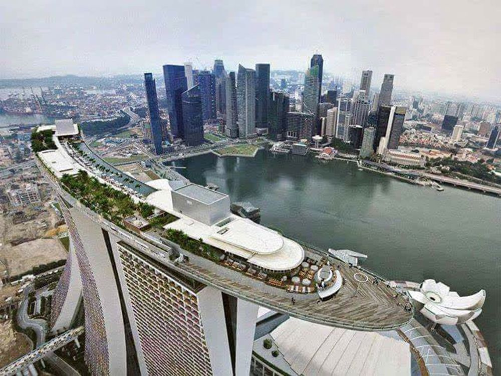 Marina Bay Sands , Singapore