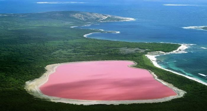 title: Pink Water Lake