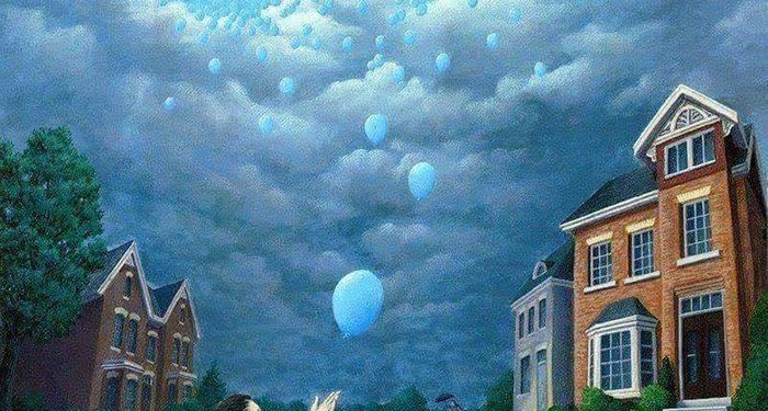 title: Rob Gonsalves illusion paintings Amazing work