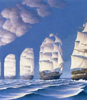 Découvrir Toronto Rob Gonsalves illusion paintings Amazing work