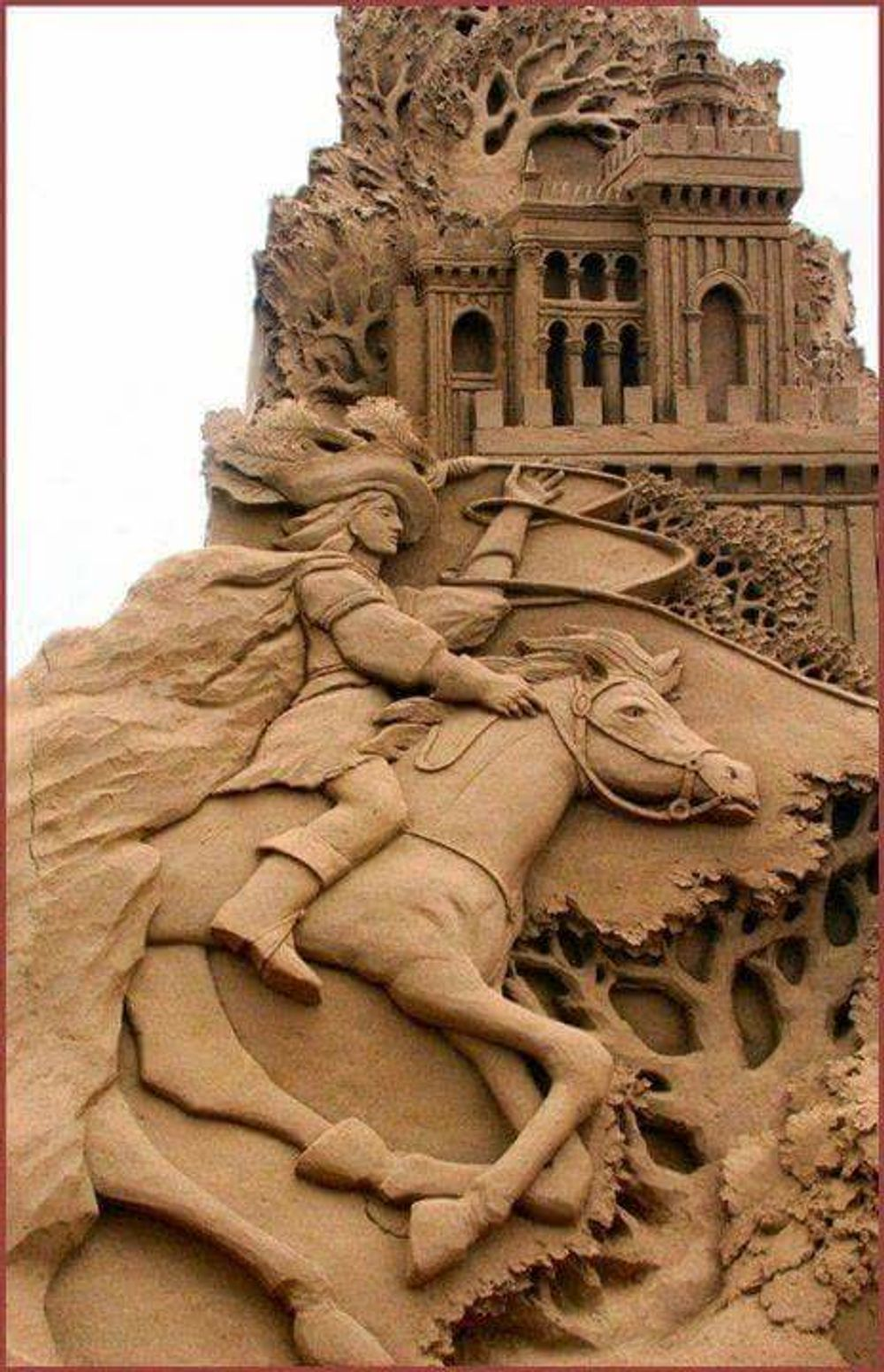 title: Sand Sculptures Amazing Art