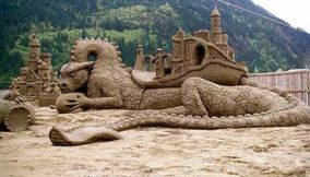 Sand Sculptures Amazing Art