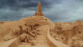 title: Sand Sculptures Amazing Sand Art