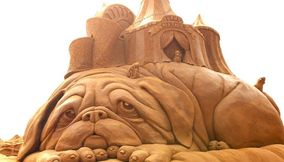 Sand Sculptures Amazing Sand Art India