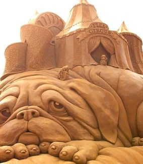 Discover Mumbai Sand Sculptures Amazing Sand Art India