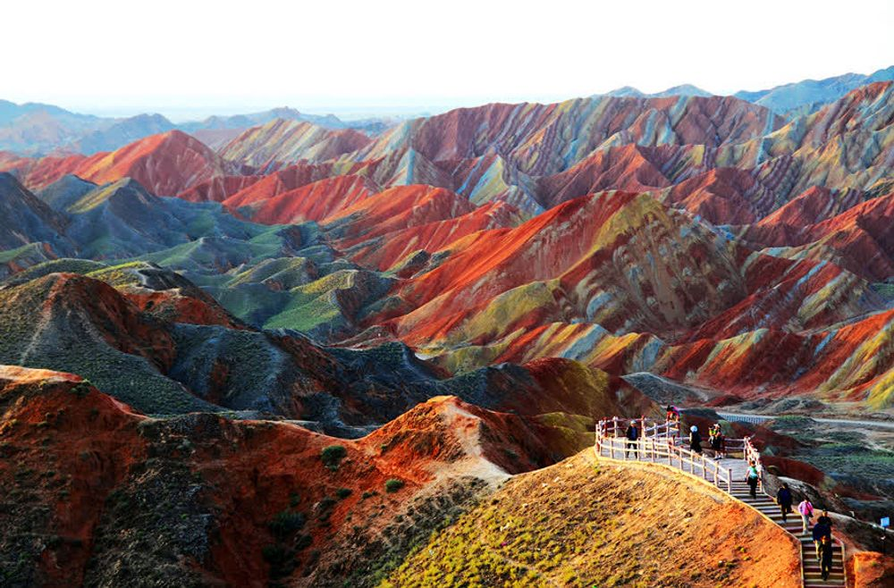 title: Zhangye Danxia Landform China