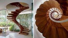 Unique staircase from around the world