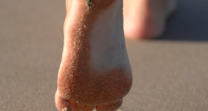 title: Happiness is My Sandy Feet