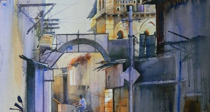 title: Watercolor paintings by Bijay Biswal India