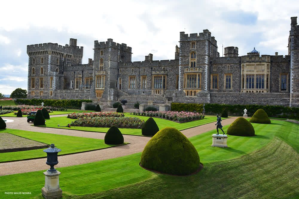 Windsor Castle Gardens
