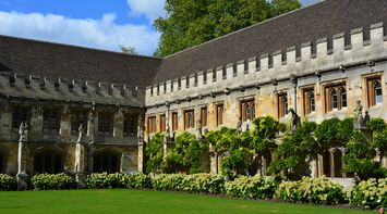 title: Oxford Magdalene Collage