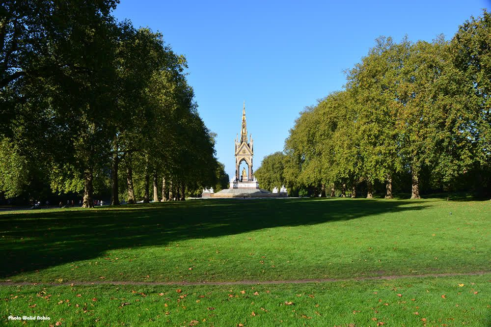 The Albert Memorial Kensington Gardens