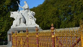 title: The Albert Memorial Kensington Gardens