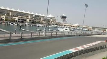 title: Yas Marina Circuit View from Viceroy Hotel