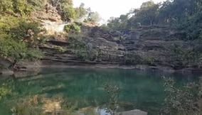 Pandav Falls and Caves