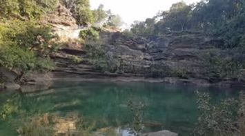 title: Pandav Falls and Caves