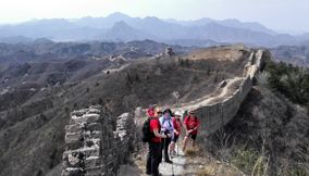 the wild great wall hiking