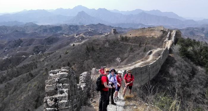 title: the wild great wall hiking